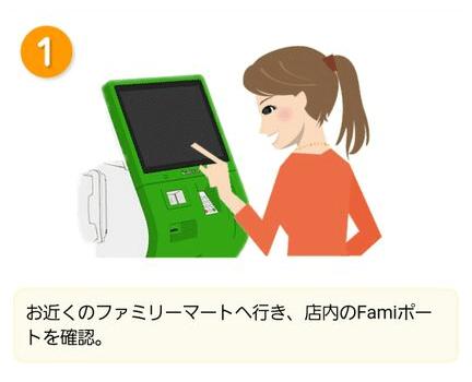 Famiポートで割引チケット